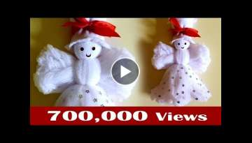 Make a doll, How to make doll from socks, Easy craft design