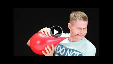 20 AWESOME BALLOON EXPERIMENTS!