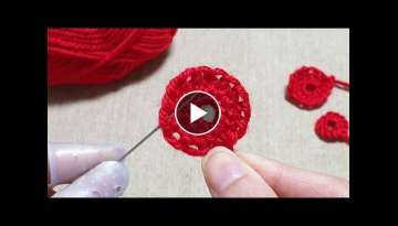 Amazing Woolen Flower Craft Ideas - Hand Embroidery Design Trick - Easy Wool Flowers