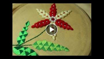 Hand Embroidery designs | Elegant stitch | Stitch and Flower-155