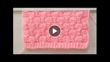 Easy Peasy Knitting Stitch Pattern For Blankets/ Sweater