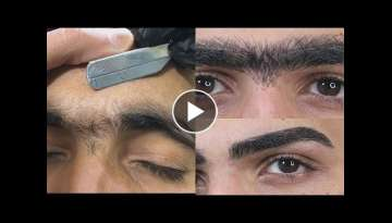 Top 5 best eyebrow transformation for men - How to shape eyebrows