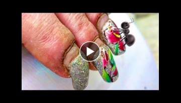 HARDWORKER WOMAN'S #NAILS #TRANSFORMATION | SHE IS NOT ANT SHE IS BEAUTIFUL NO MATTER WHAT THEY...