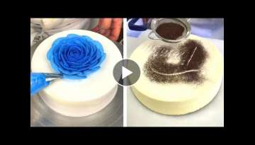 Simple & Quick Cake Decorating Ideas | Awesome Chocolate Cake Recipes | So Easy Cake Recipes