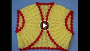 KNITTING BOLERO JACKET ( PART - 1)