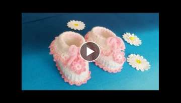 Making baby booties / Making baby booties easy