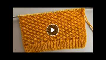Easy, Simple Easy Knitting Stitch Pattern