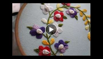 Hand Embroidery Designs | Japanese stitch | Stitch and Flower-142