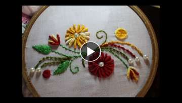 Hand Embroidery Designs | Hand embroidery stitches | Stitch and Flower