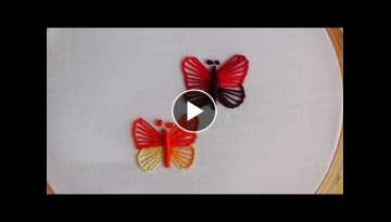 Hand Embroidery: Blanket Stitch (Butterfly Stitch)