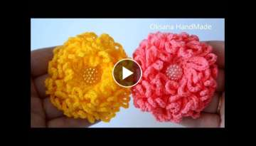 Flower crochet - Chrysanthemum - Flower crochet. Chrysanthemum DIY