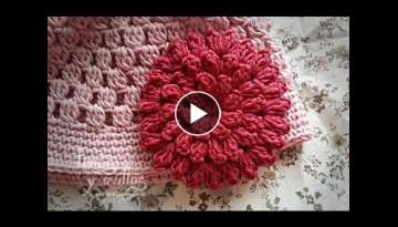 Tutorial Flor Crochet o Ganchillo