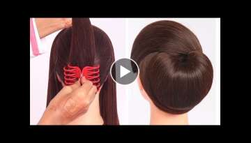 very easy hairstyle with using clutcher | try on hairstyle | simple hairstyles | clutcher hairsty...