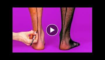 28 PANTYHOSE HACKS FOR WOMEN AND MEN