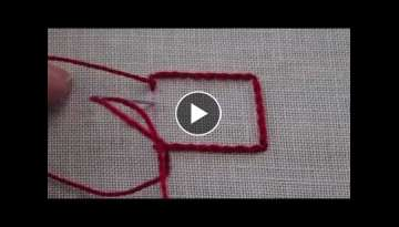 Stem Stitch used in hand embroidery