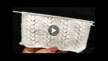 Knitting Latest Beautiful Design Pattern