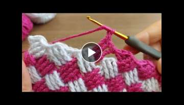 Super Easy Crochet Knitting - You will love the perfect crochet knitting pattern