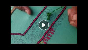 Hand Embroidery: Long stitch / Living stitch