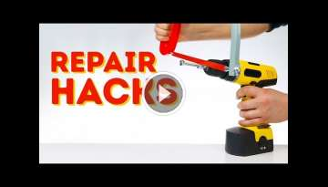 Repair hacks that will change the way you do DIY l 5-MINUTE CRAFTS