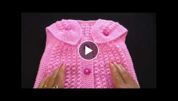 Knitting Baby Cardigan | Jacket | Sweater