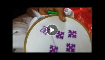 How to make sindhi hand emboridery Handy work