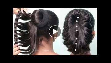 Easy Hairstyle For Medium hair 2019 || Best Hairstyle For Girls || Latest 2019 Hairstyles