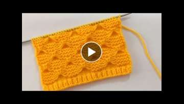 Butterfly Knitting Stitch Pattern For Blankets And Sweater
