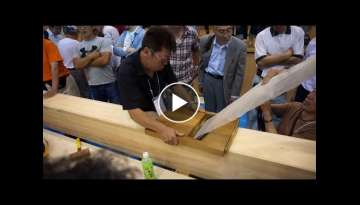 Intelligent Techniques Dovetail Joint Woodworking Fastest Easy, Latest Techology Impossible DOVET...