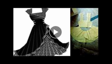 STYLISH DRESS CUTTING SIMPLE AND EASY METHOD - CUTTING TUTORIAL