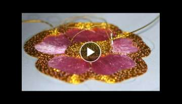 EMBROIDERY: SILK - GOLDWORK