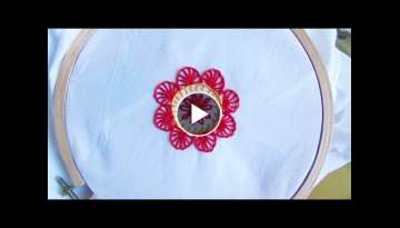 Hand Embroidery: Button Hole Stitch