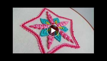 Hand Embroidery: Motif Embroidery #2