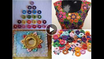 hand embroidery// mirror work shisha || stitch new design 2017 beautiful embroidery: for work