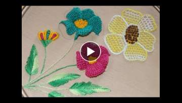 Hand Embroidery Designs | Brazilian Embroidery | Stitch and Flower-164