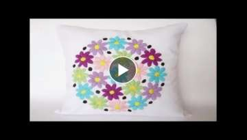 Hand Embroidery Flower Design || Proficiency Knowledge part 2
