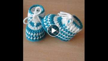 Shose Baby's way of crochet steps