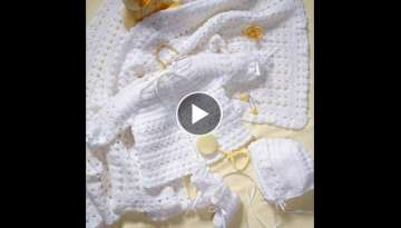Crochet Along (CAL) - Baby Layette Set (Video 1) - Yolanda Soto Lopez