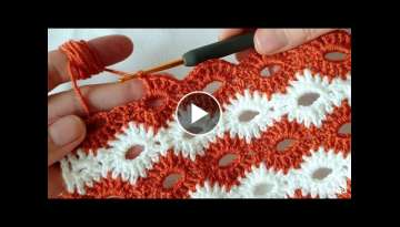 Very beautiful vest blanket knitting pattern that you will like very much