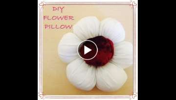 DIY Flower Pillow
