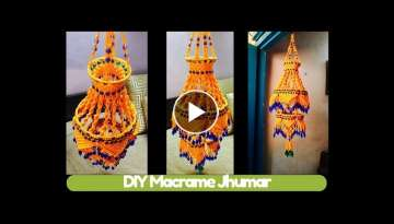 DIY Two storey Macrame Jhumar Design 3 | Macrame Art
