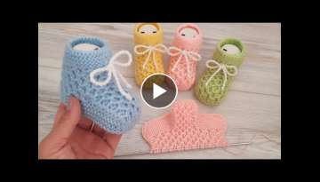 Knitting Baby Socks Booties DIY Pattern Design