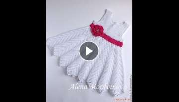 Crochet Patterns| for free |crochet baby dress
