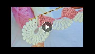 Super Easy Crochet Knitting Lace Braid Ribbon Tape Tutorial