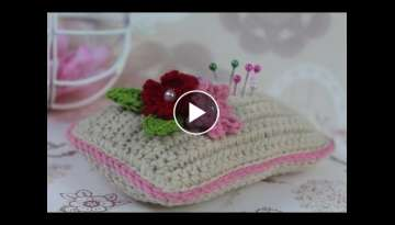How to make crochet pincushion