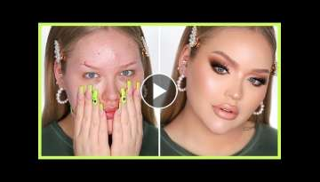 FULL FACE OF FLAWLESS In-Depth Makeup Tutorial | NikkieTutorials