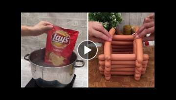 Chefclub's craziest WTF recipes! A hot dog tower