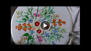 Hand embroidery designs - brazilian embroidery