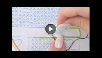 How to embroidery a Stem Stitch