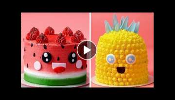 Best Fruitcake Recipes | Amazing Fruit Cake Decorating Ideas For Any Occasion | So Yummy Cake