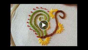 Quilling Made Easy : Beautiful Braided Chain Stitch Design